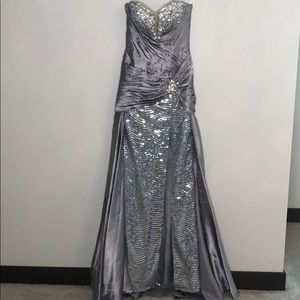 Tony Bowls evening gown
